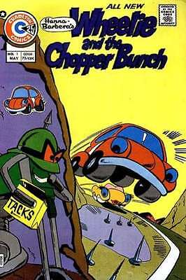 Wheelie and the Chopper Bunch #1 in Very Good + condition. FREE bag/board