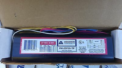 Advance VM-2SP20-TP F20T12 2-lamp Fluorescent Ballast 277V