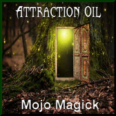 Mojo Magick Attraction Essential Oil Hoodoo Wicca Draw Love - Works Male Female