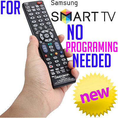 Samsung Smart TV Universal NO PROGRAMMING 3D HDTV LED LCD Remote Control NEW
