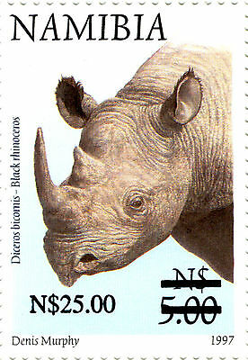 Namibia 1997 Definitives Overprinted 2005 Sg1005  Mnh