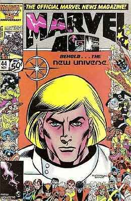 Marvel Age #44 in Near Mint condition. FREE bag/board