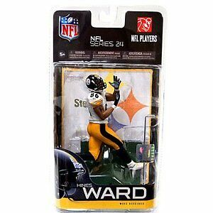 NFL Series 24 Hines Ward white jersey Variant 6in Action Figure McFarlane Toys
