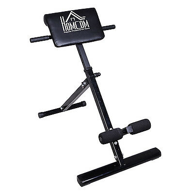 Back Extension Bench Hyperextension Roman Chair Hyper Extension Abs Fitness New