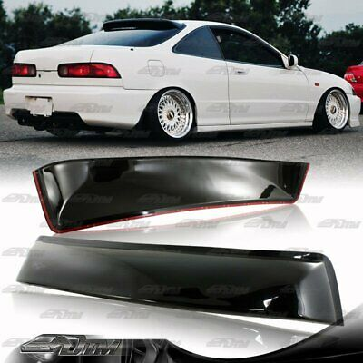 1994-2001 Acura Integra 2DR Coupe Black ABS Plastic Rear Roof Spoiler Wing