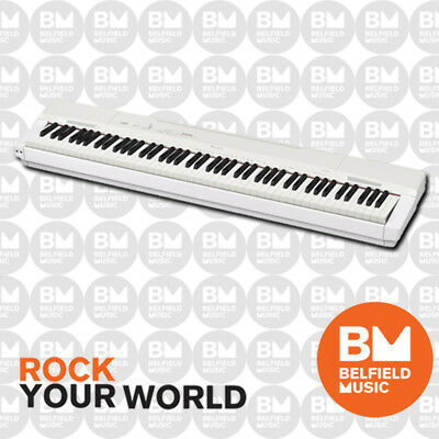 Casio PX160 White Digital Electronic Piano PX160W Weighted 88 Keys PX-160 - BNIB
