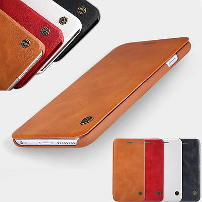 Nillkin Ultra-thin Luxury Flip Genuine Leather Case Cover For iPhone 6 6S 7 Plus
