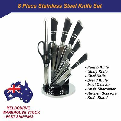 NEW Stainless Steel Kitchen Knife Set Paring Meat Cleaver