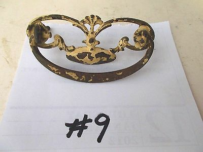 Antique Ornate  Drawer Cabinet Furniture Pulls Handle/ Knob Pic  #9