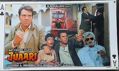 Lobby card bollywood  FAMILY MovieJuaari (1994) Dharmendra Arman Shilpa Sirodkar