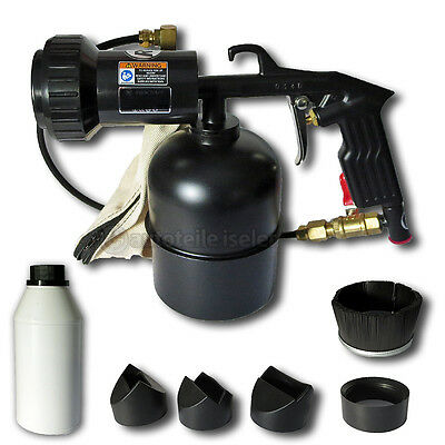 Rodcraft Rc8113 Air Sandblasting Gun With Container + 5 Nozzle Attachments
