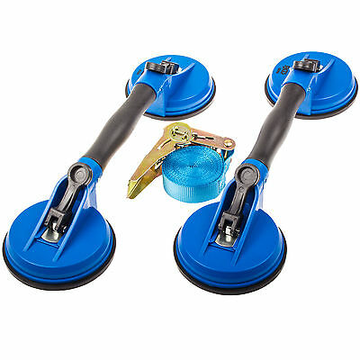 Disk Carrier Set 3 Pcs. Glass Lifter Suction Cup Glass Lifter Discs Carrying Aid