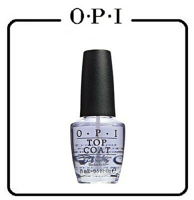 OPI NAIL POLISH NATURAL NAIL CLEAR TOP COAT 1 x 15MLS FULL SIZE