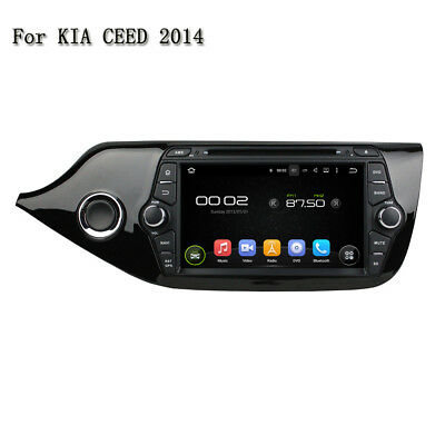 Android 5.1 Quad Core Car stereo DVD Player Gps Navigation For KIA CEED 2014