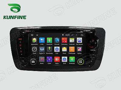 Android 5.1 Quad Core Car stereo DVD Player Gps Navigation For SEAT IBIZA 2013