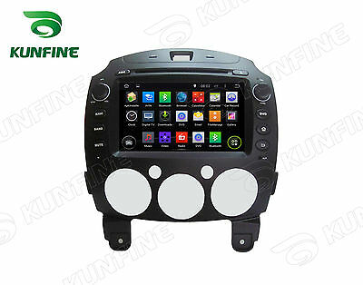 Android 5.1 Quad Core Car stereo DVD Player Gps Navigation For Mazda 2 2010-12