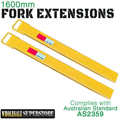 Forklift Fork Extensions Slippers Brand New 1600mm