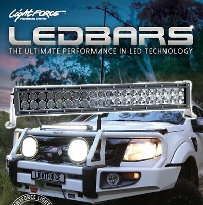 "Lightforce Gen 2, 20"" Dual Row LED 40x5w Combination Light Bar With wiring Harne"