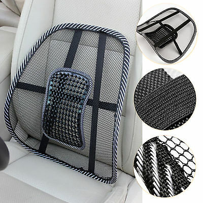 Mesh Lumbar Back Brace Support Cushion for Office Car Seat Chair Healty