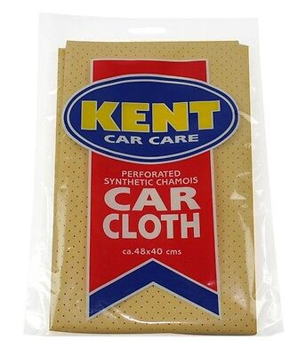 2x Perforated Synthetic Chamois Car Cloth Kent IC131 NEW MULTIBUY SAVER