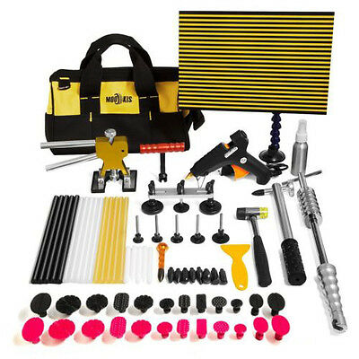 PDR Paintless Hail Puller RodKits Dent Repair Removal Hammer Tools Line Board AU