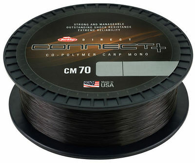 Berkley NEW Fishing CM70 Connect + CM 70 Muddy Brown Mono Line 1000m *All Types*