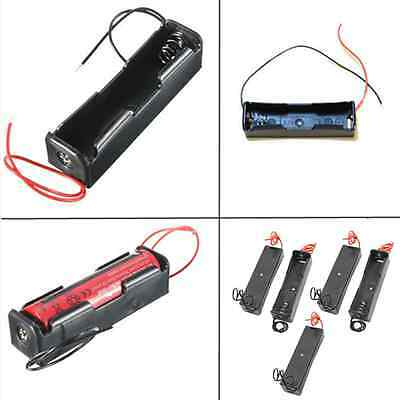 Lots 5pcs Plastic Battery Holder Storage Box Case for 18650 Rechargeable Battery