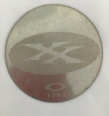 BRAND NEW OAKLEY XX X Metal 1999 COLLECTORS COIN