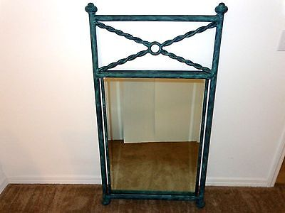 """LARGE & Very Unique - Gothic Style / Medieval Castle Mirror (51"""" tall)"""