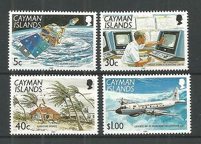 Cayman Islands 1991 Decade for Natural Disaster Reduction MNH