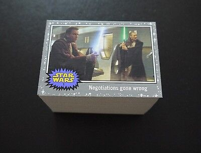 Topps Star Wars Journey Force Awakens Lot Of 100 Death Star Silver Cards