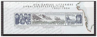Greenland 2003 Expeditions   mint MNH sheet stamps SGMS427