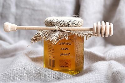 340g/12 Oz Natural Raw Honey -100%Natural ,Pure ,Organic  -Land Of Honey-