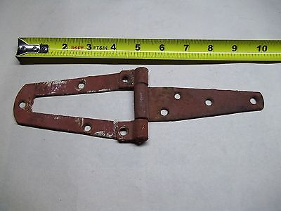Vintage or antique barn door or gate hinge