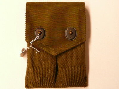 US Army WWI, pouch magazine M12, 1918 dated O,D