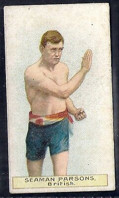 Wills Scissors-Boxers Boxing-#25- Seaman Parsons