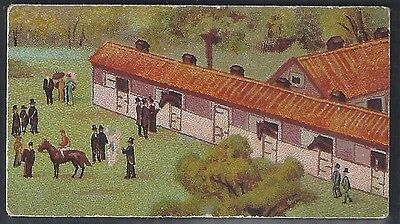 Wills Scissors-Derby Day Series Horse Racing (With Title)-#05- Quality Card!!!