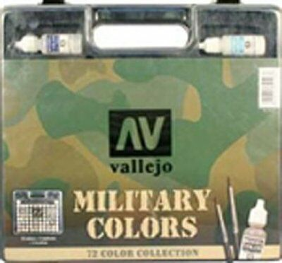Vallejo militare Gamma Colori Box Set (M4V)