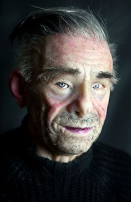 """Silicone Mask Old Man """"Glen"""" Halloween Hand Made, Pro Realistic High Quality"""