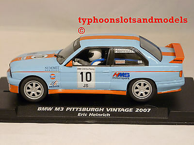 F038106 FLY BMW M3 E30 - Gulf - Pittsburgh Vintage 2007 - Eric Heinrich - New