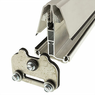 Glass Retaining Plate Self Supporting Roof Glazing Bars Stop Units Slipping