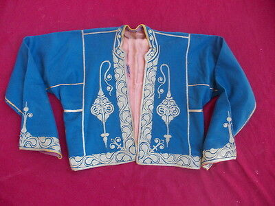 ottoman greek women jacket with gold metallic threads