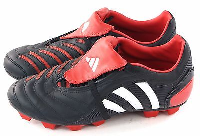 f83d5d26de31 Adidas Youth JR Predator Pulsion 2 TRX FG Soccer Cleat Black Red 38 EU 5.5  US