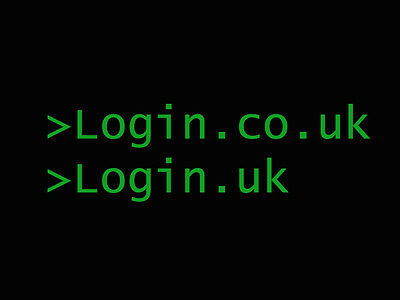 Login.co.uk & Login.uk - Prestigious domain names!