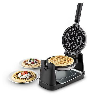 Pro Kitchen Wafflemaster Waffle Iron Maker By oneConcept 1000W 17cm Rotatable