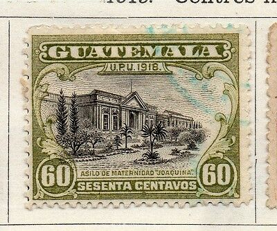 Guatemala 1919 Early Issue Fine Used 60c. 108012