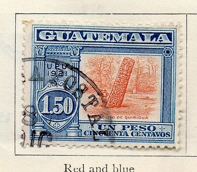 Guatemala 1921 Early Issue Fine Used 1.50P. 108022