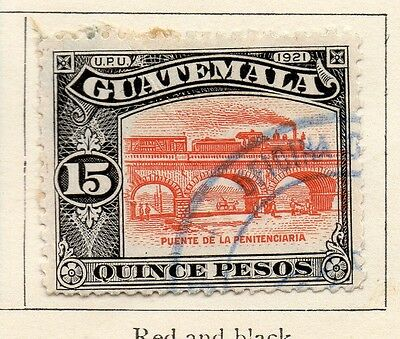 Guatemala 1921 Early Issue Fine Used 15P. 108023