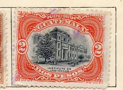 Guatemala 1902 Early Issue Fine Used 2P. 108028