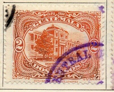 Guatemala 1925 Early Issue Fine Used 2P. 108052